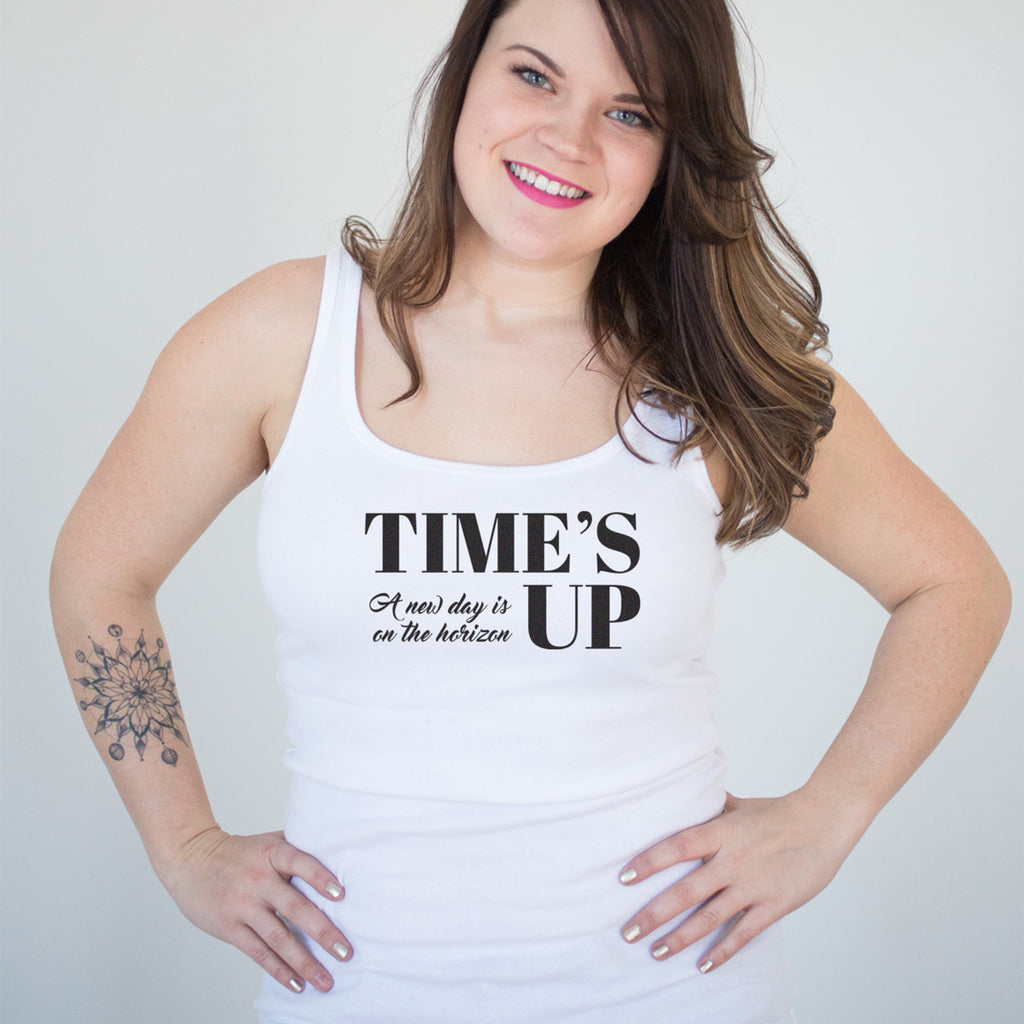Time's Up - A New Day is on the Horizon Ladies' Tank