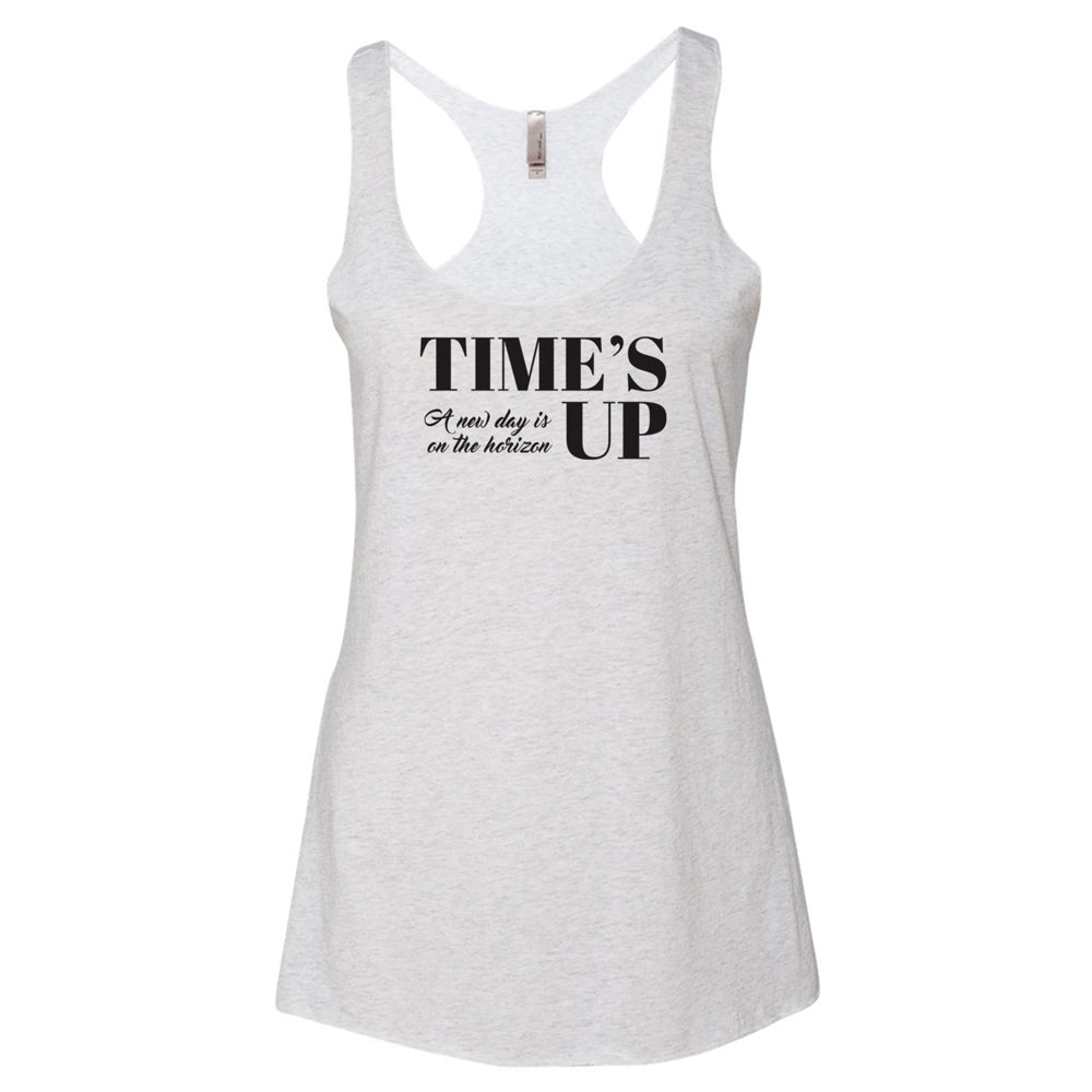 Time's Up - A New Day is on the Horizon Racerback Tank