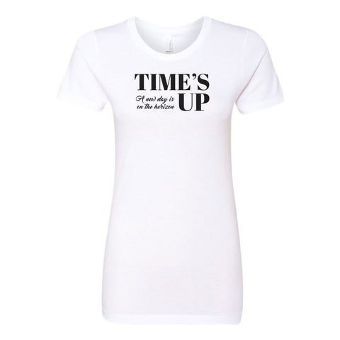 Time's Up - A New Day is on the Horizon Ladies' Boyfriend T-Shirt - pipercleo.com