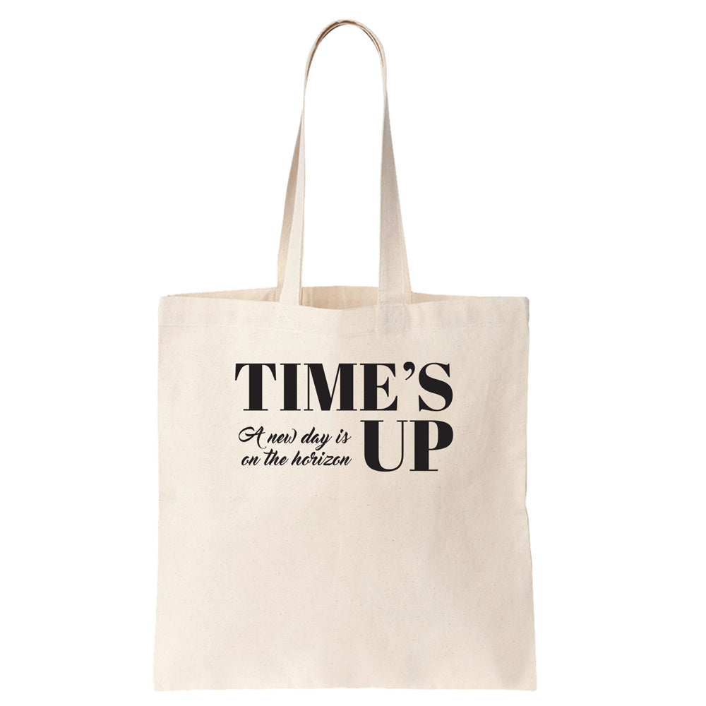 Time's Up - A New Day is on the Horizon Cotton Tote Bag - pipercleo.com