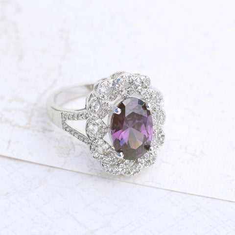 Royal Purple Amethyst Ring