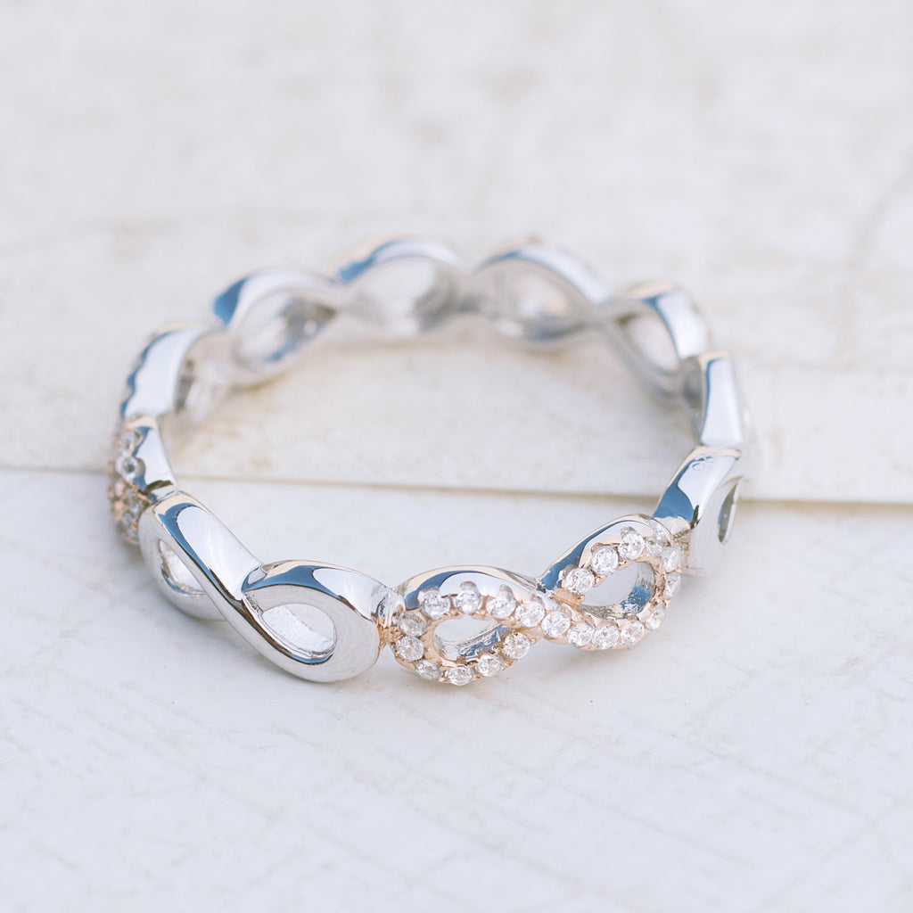 Beyond Infinity Sterling Silver Ring