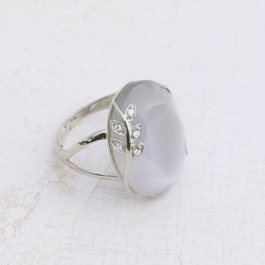 Smoke Signals Sterling Silver Ring - pipercleo.com