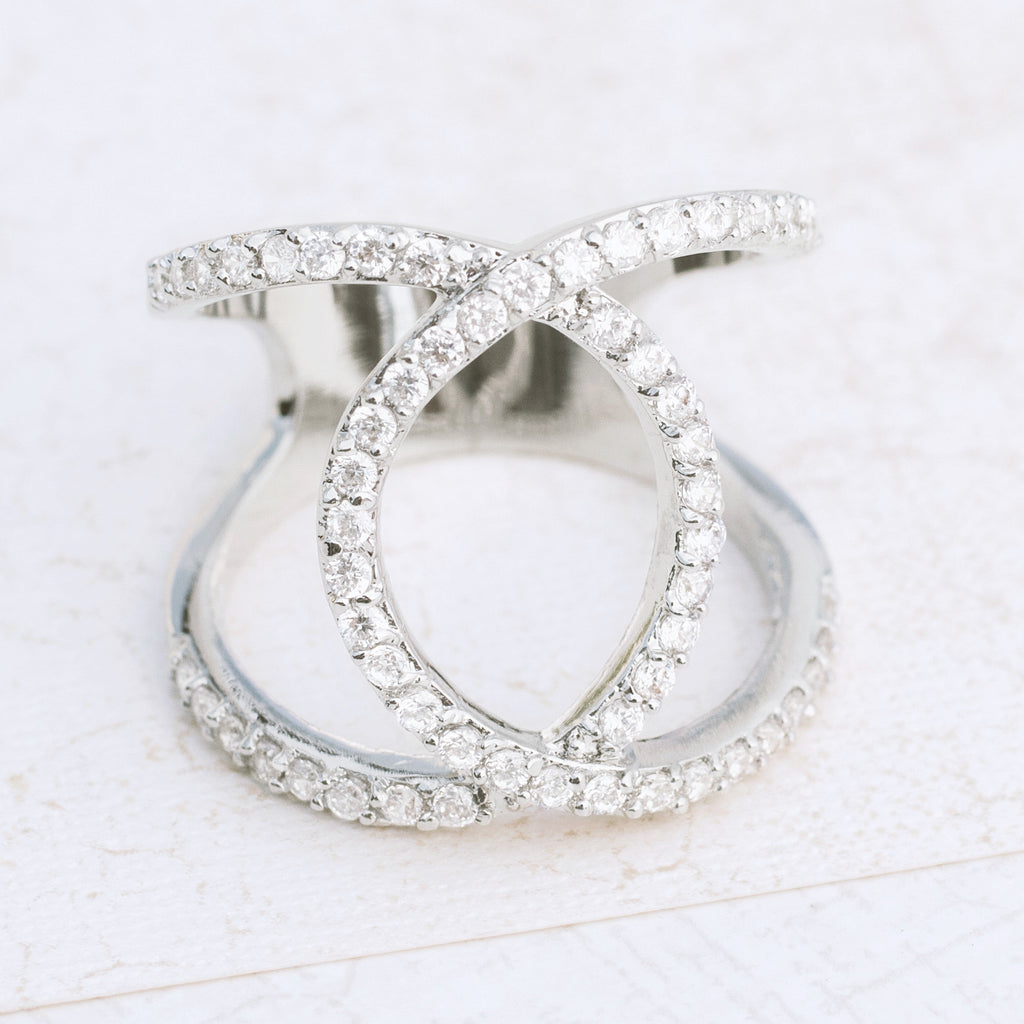 Modern Art Ring - pipercleo.com