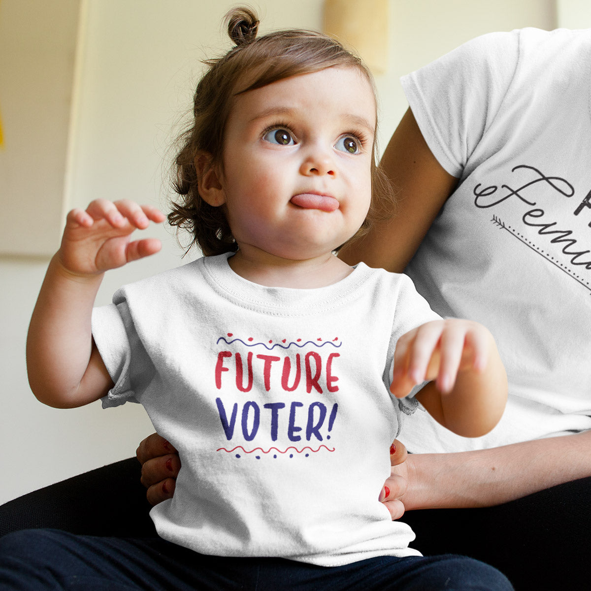 Future Voter! Toddler Softstyle T-Shirt - pipercleo.com