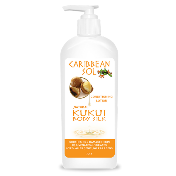 Caribbean Sol Kukui Body Silk After Sun Lotion