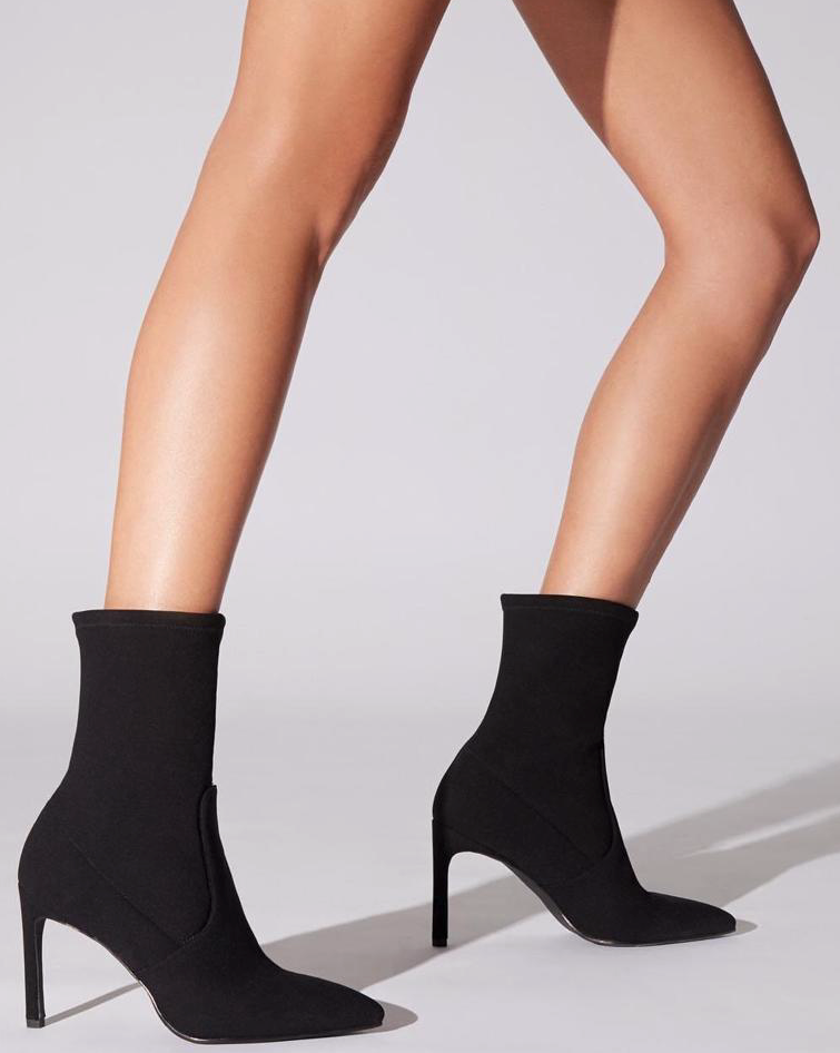 The Keep Up With Me Bootie -  Stuart Weitzman Wren 75 Booties