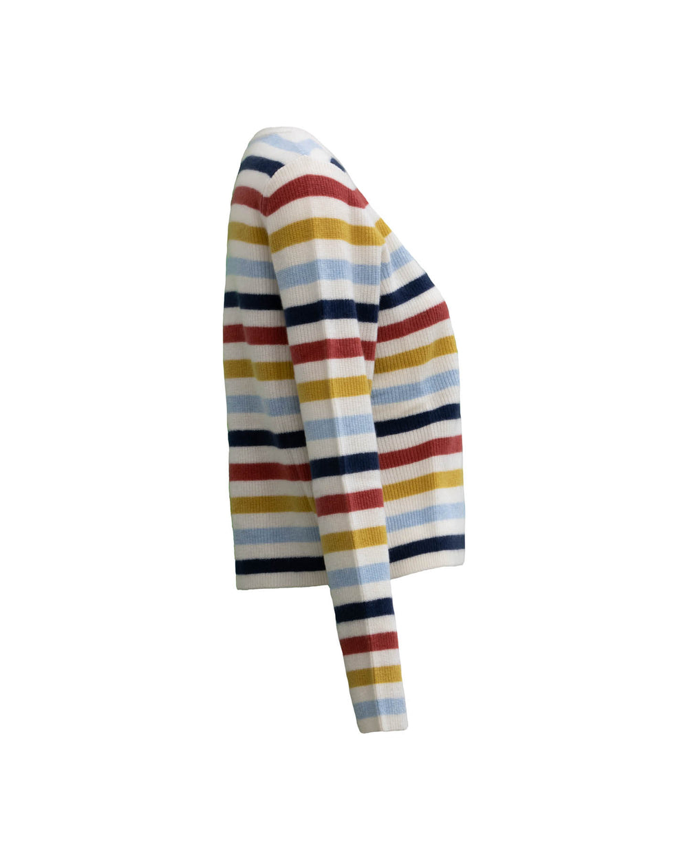 Alyssa Striped Cashmere