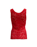 Lace Camisole in Strawberry