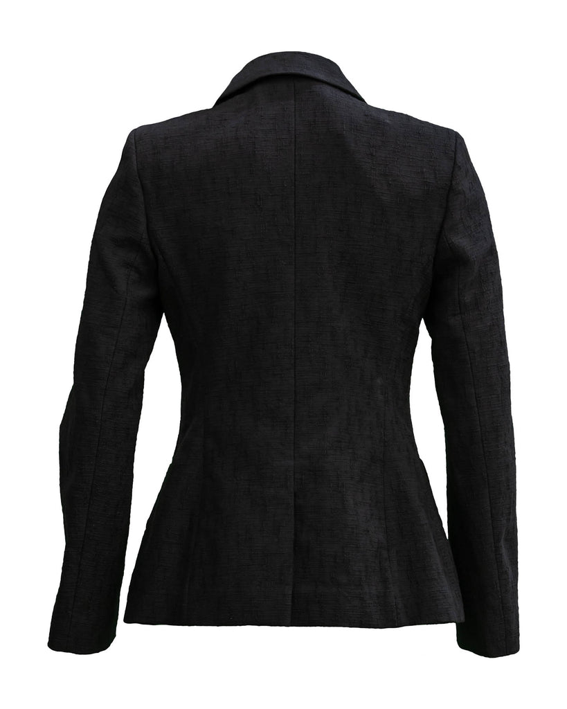 Touch of Summer Jacket-Pure Black
