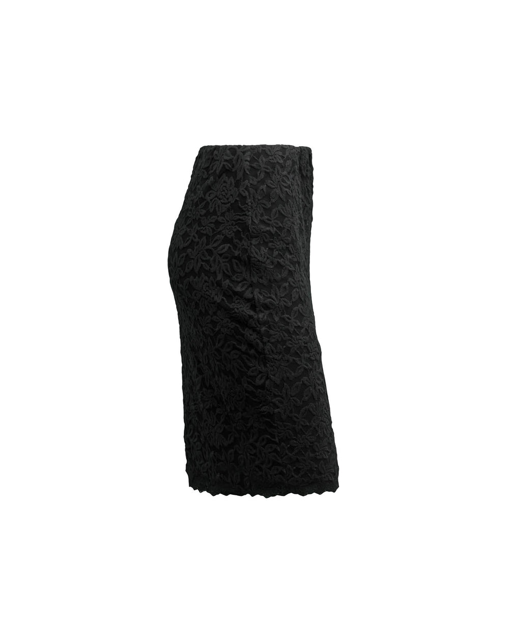 Lace Skirt In Black