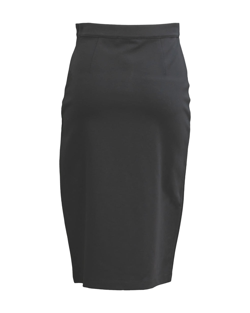 Ponte Side Slit Skirt