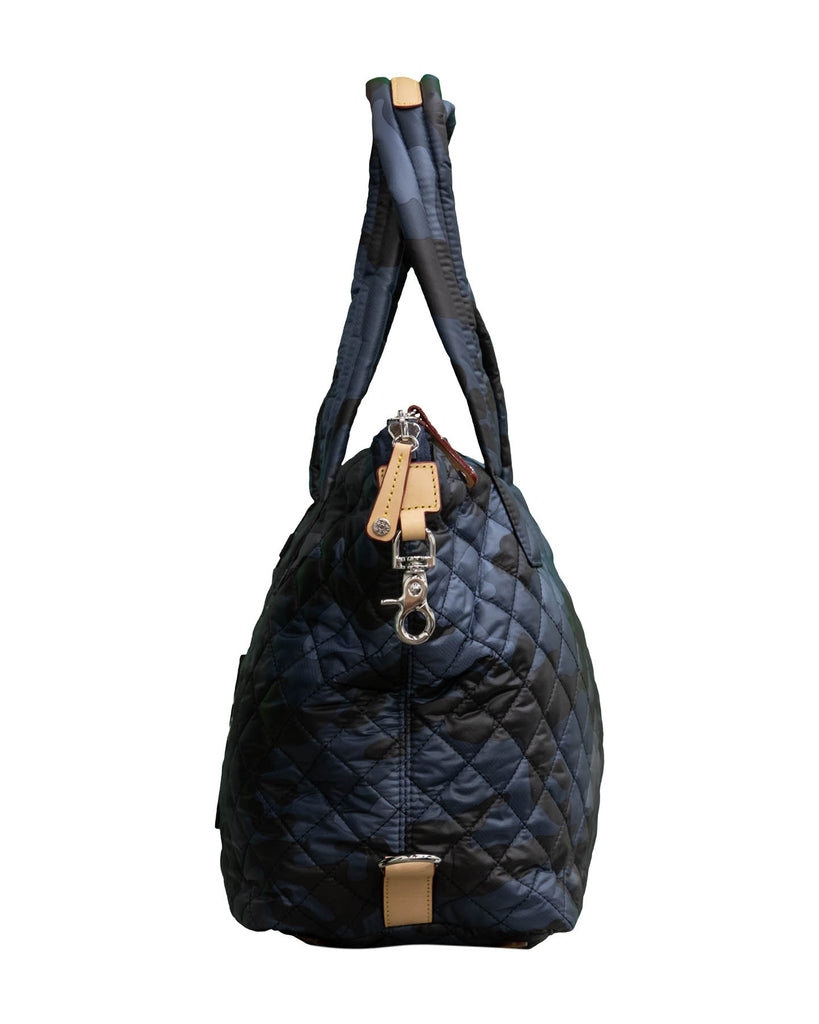 Medium Sutton Bag-Dark Blue Camo Oxford