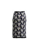 Flower Breeze Pencil Skirt