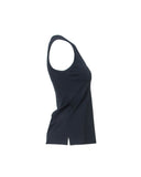 V-Neck Sleeveless Top- Side View