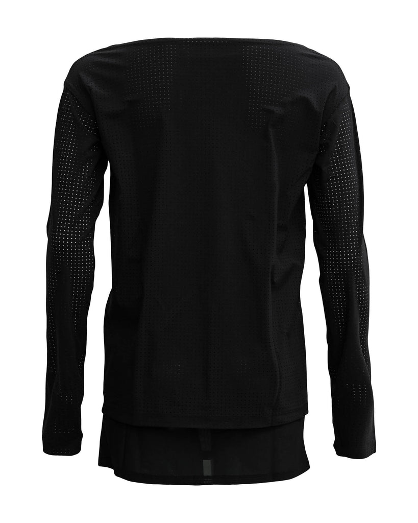 Perforated Long Sleeve