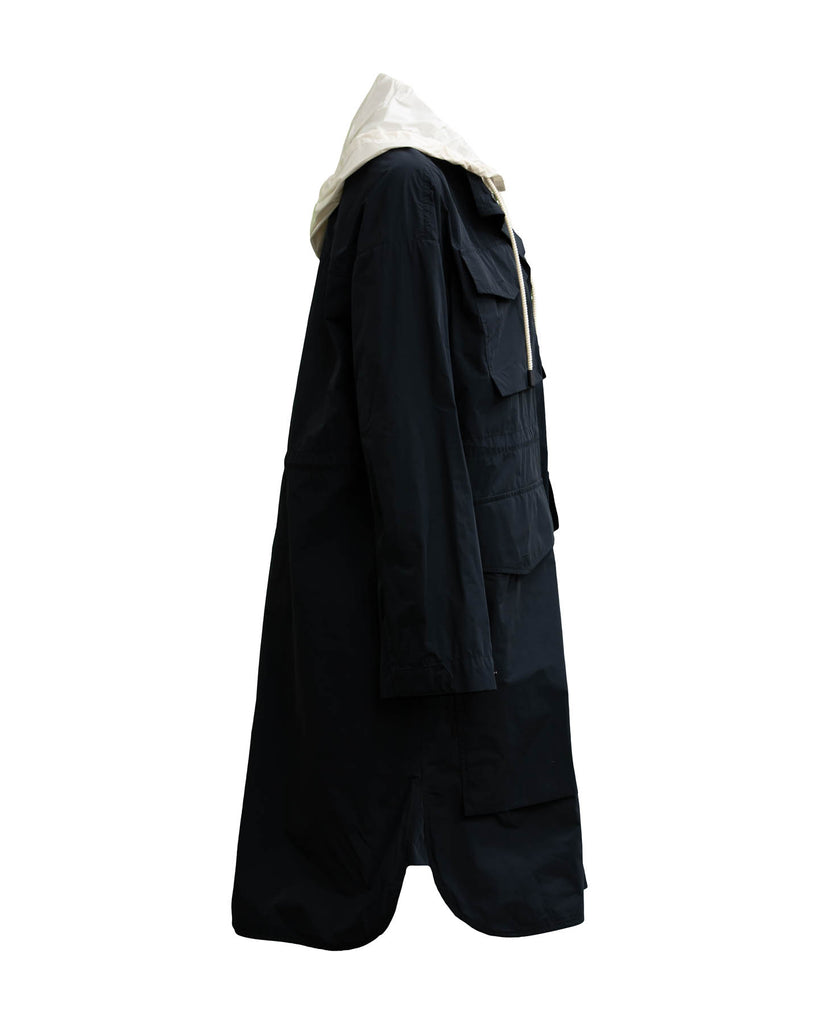Hooded Anorak Coat