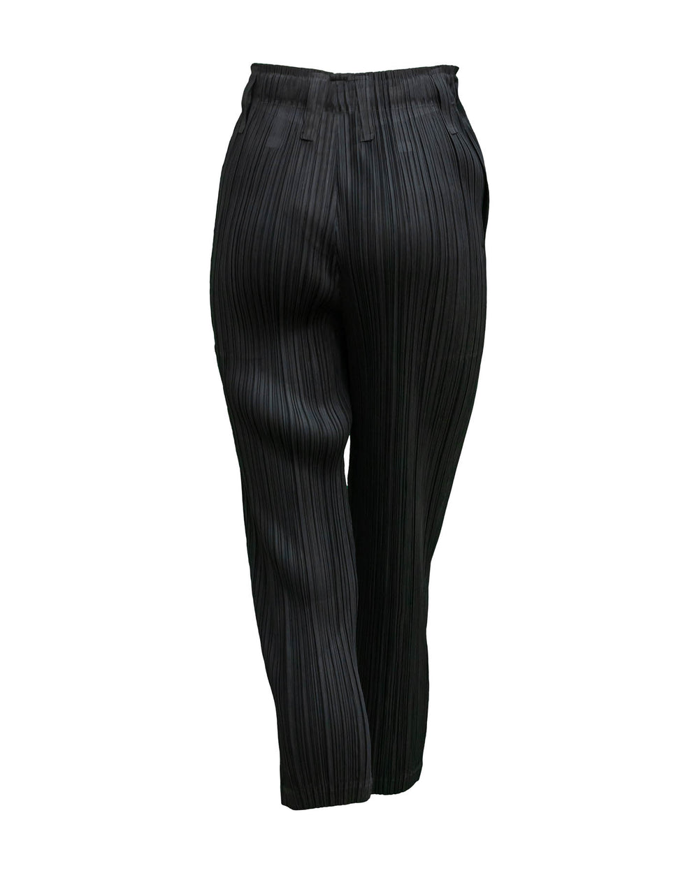 Slim Hem Pleated Pants
