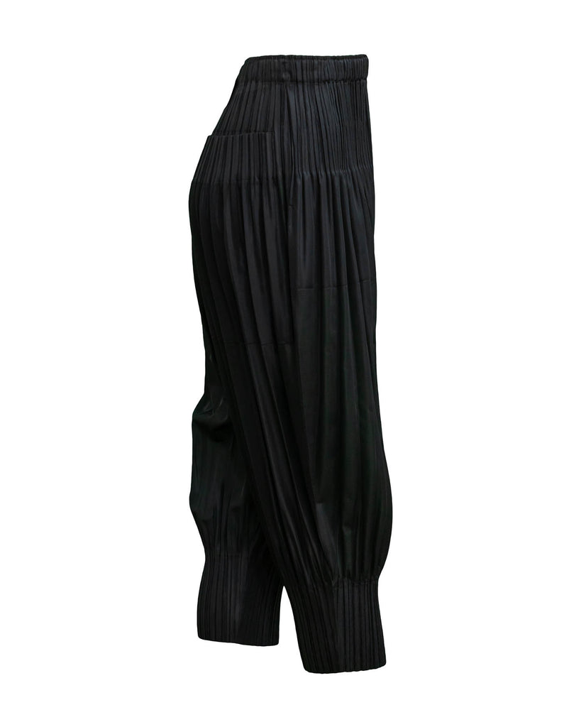 Cuffed Pleated Pant