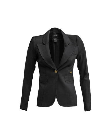Wrap Blazer in Black