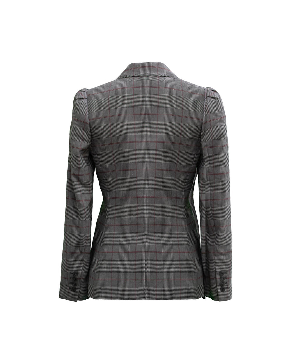 Tailored Summer Check Jacket