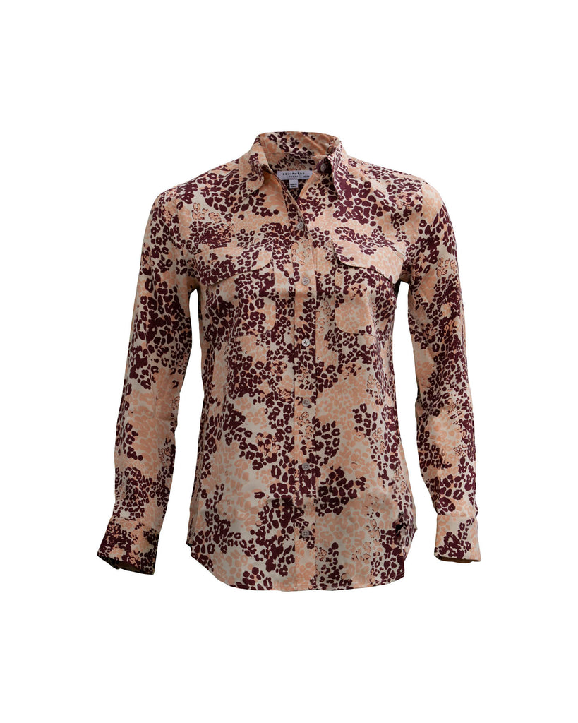 Slim Signature Shirt Rose Cloud Multi