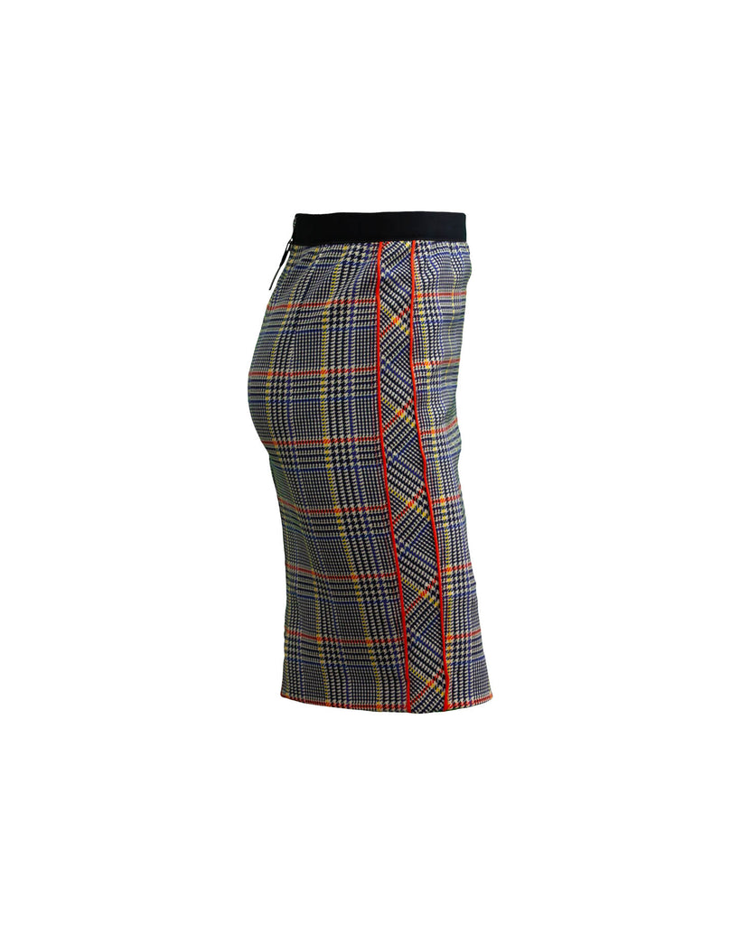 Glen Plaid Skirt