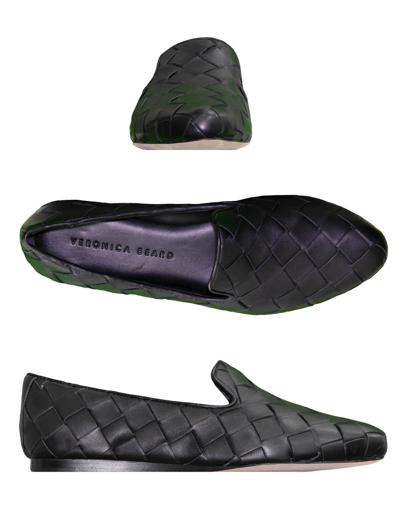 Woven Leather Loafer