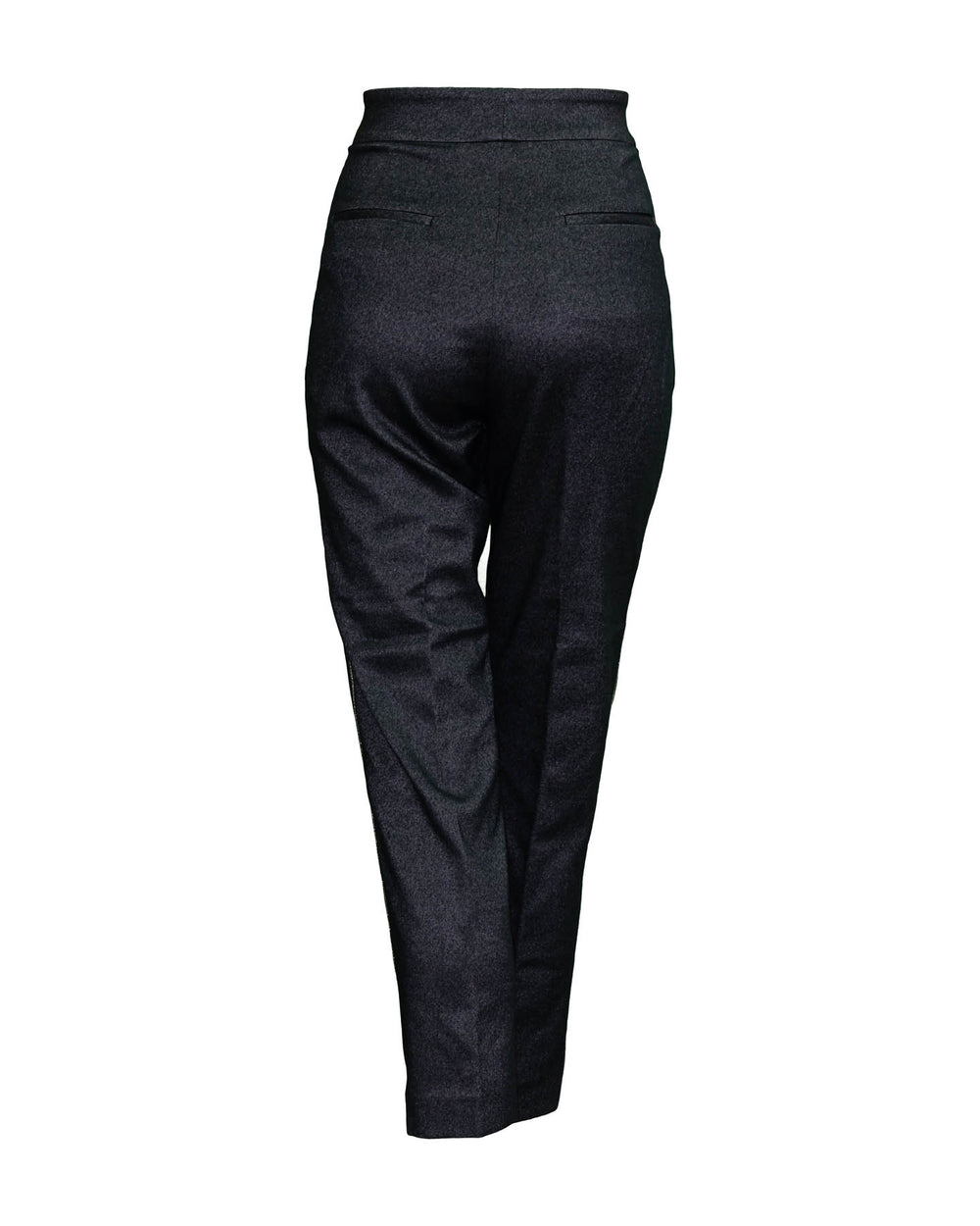 Tailored Pants with Piping