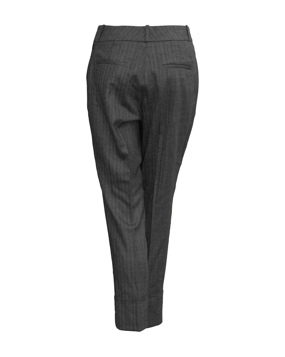Wide Cuff Tailored Pants