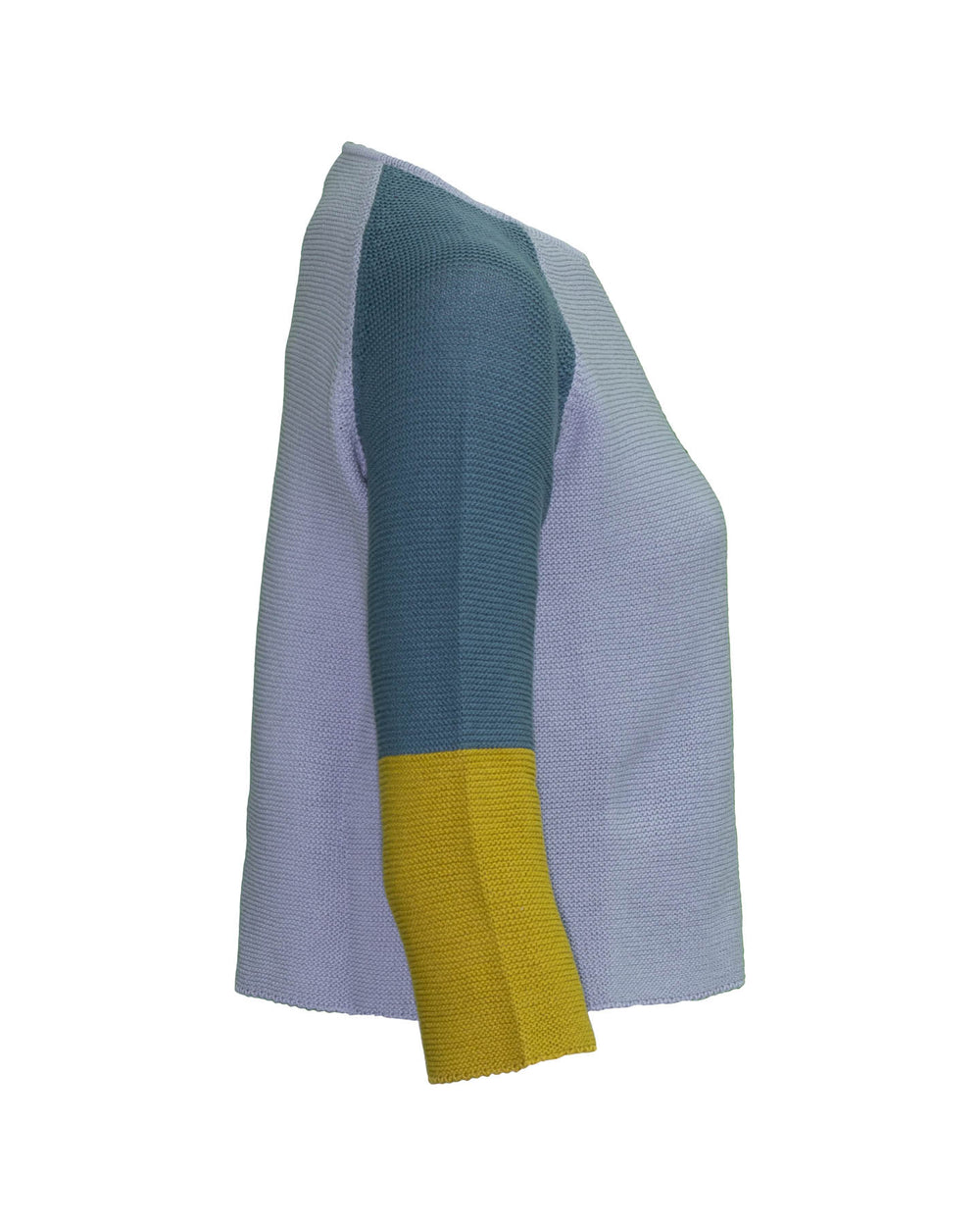 Lampone Colorblock Sweater