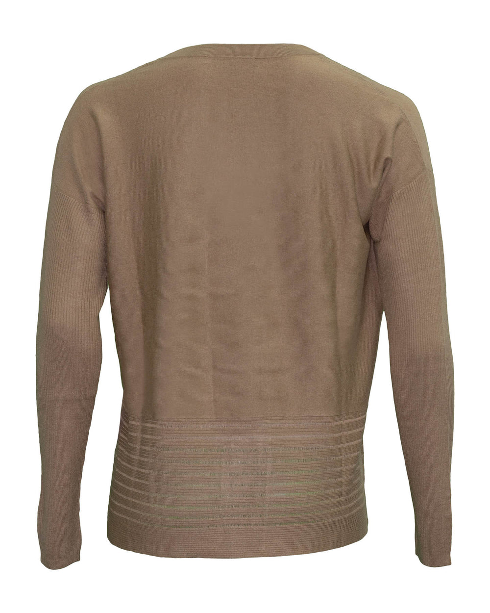 V Neck Bamboo Cashmere Blend Sweater
