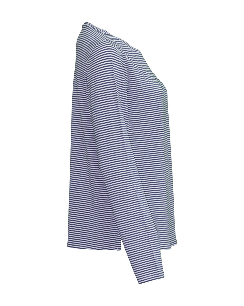 Soft Touch Striped Pullover