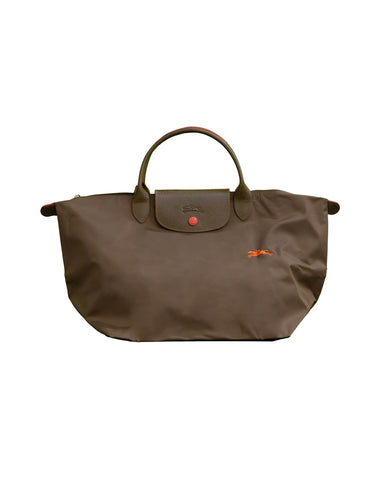Le Pliage Club Tote Bag Medium Gun Metal