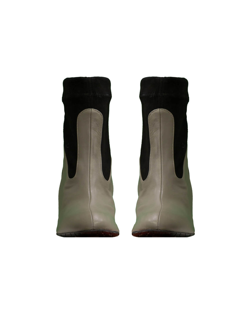 Doroty Suede Combo Boot