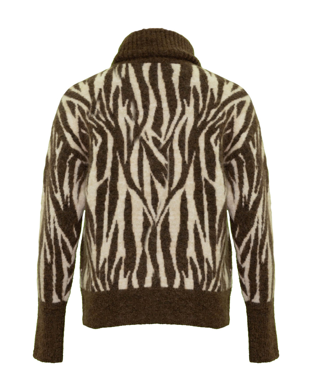 Paxi Print Turtleneck Pullover