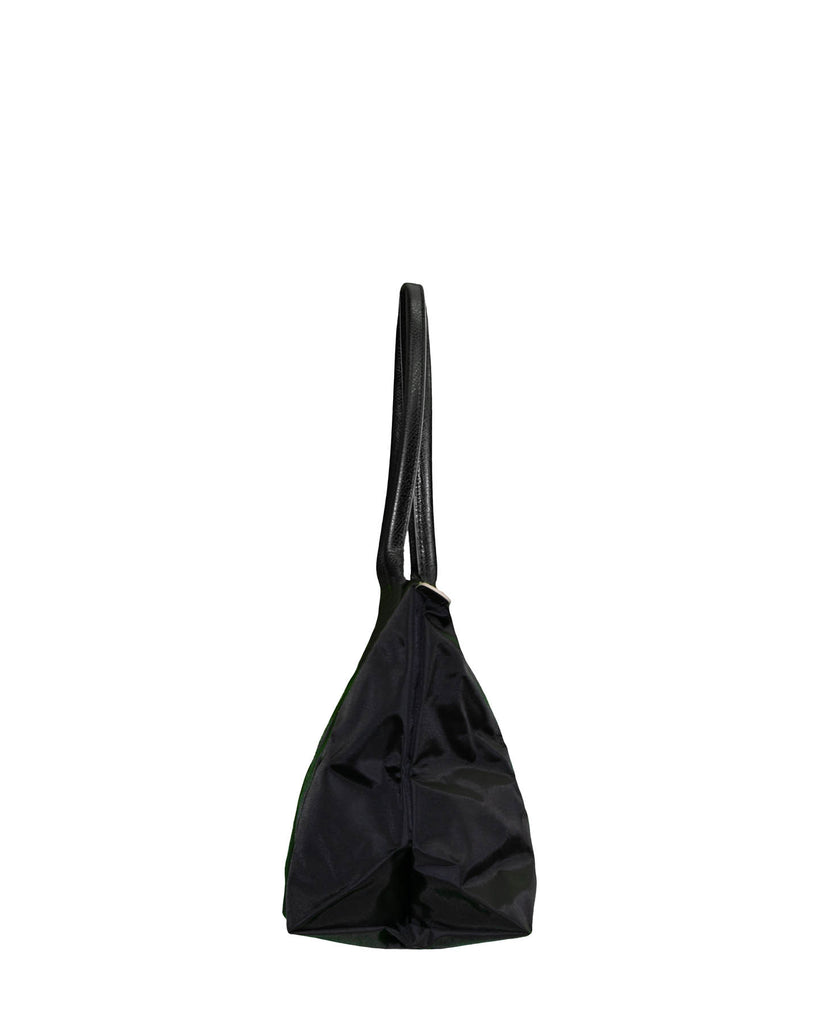 Le Pliage Club Large Shoulder Tote Black