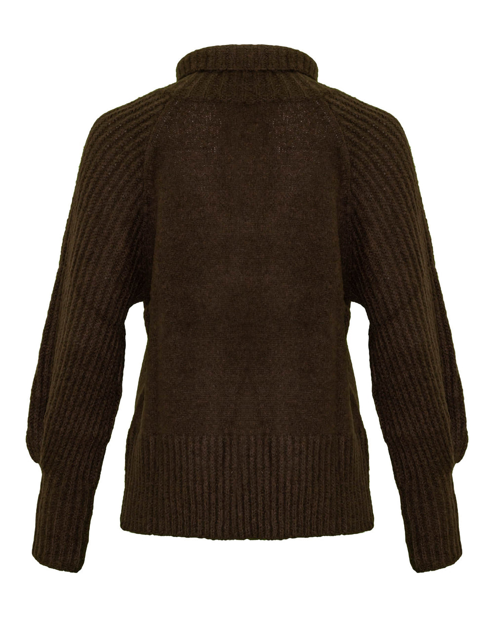 Chunky Funnel Neck Pullover