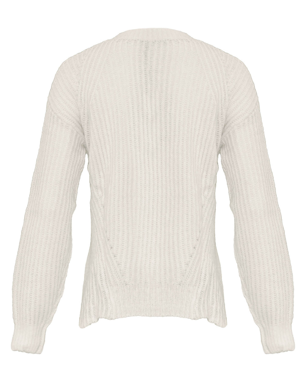 Loose Ribbed Pullover