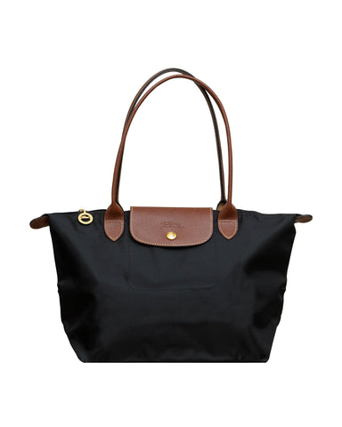 Le Foulonné Leather Hobo