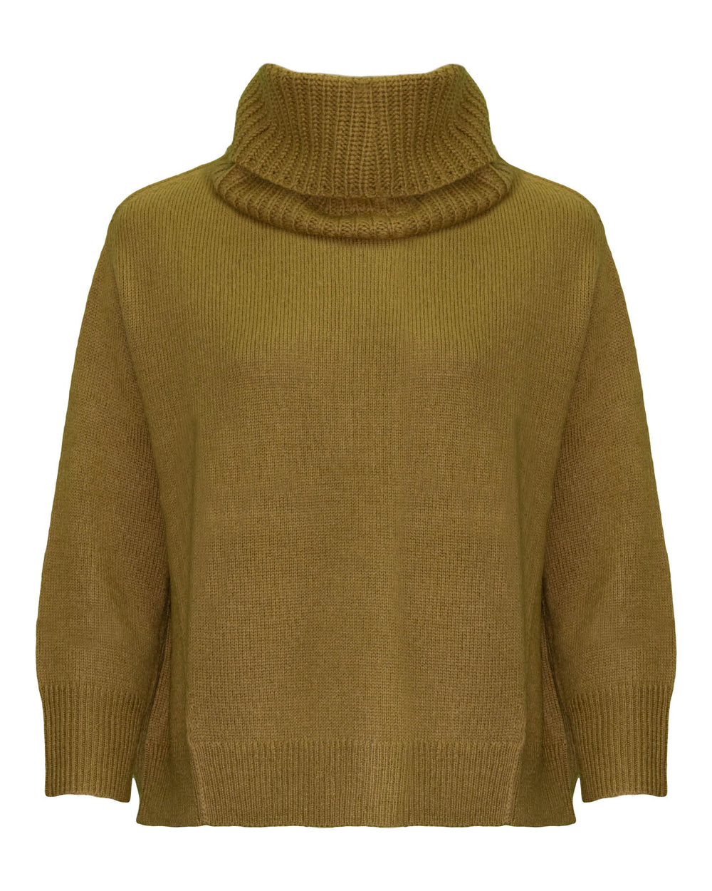 Boxy Pullover Removable Collar