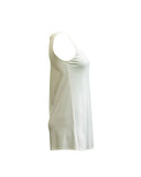 System Silk Jersey Long Shell in White