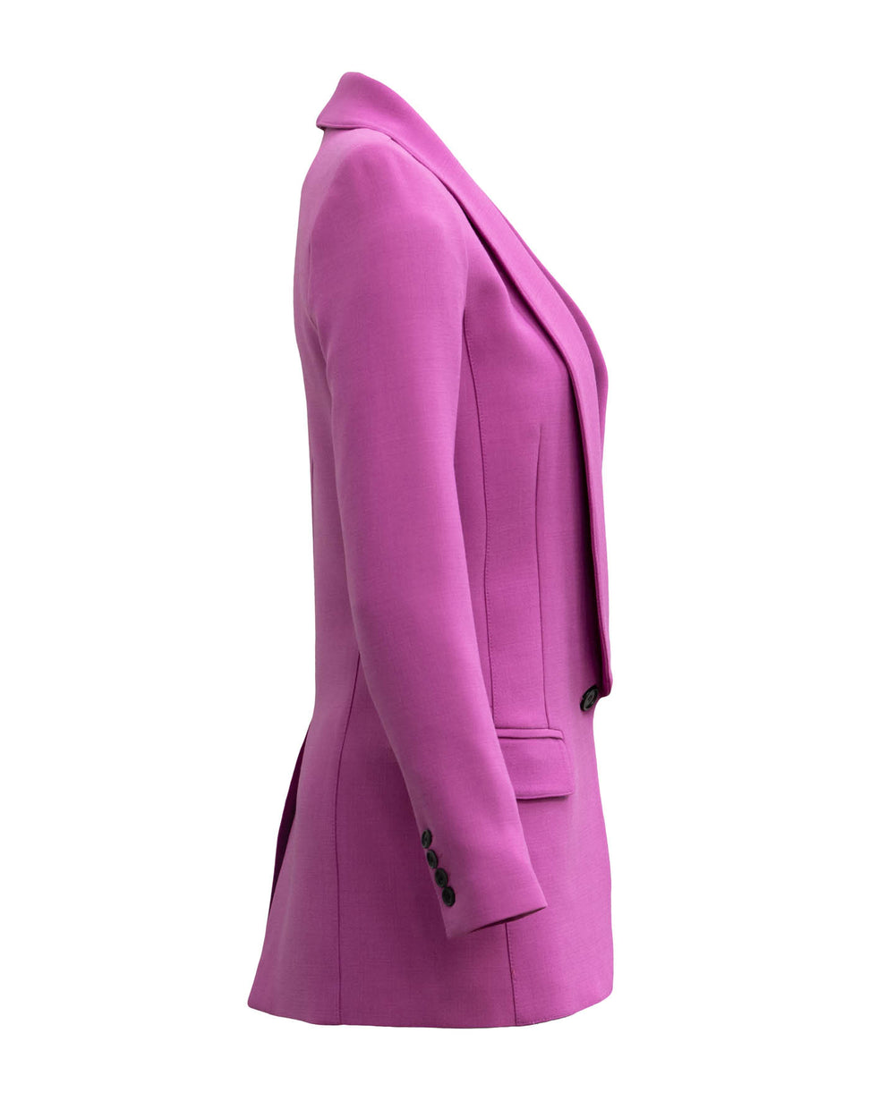 Long Shawl Blazer Violet
