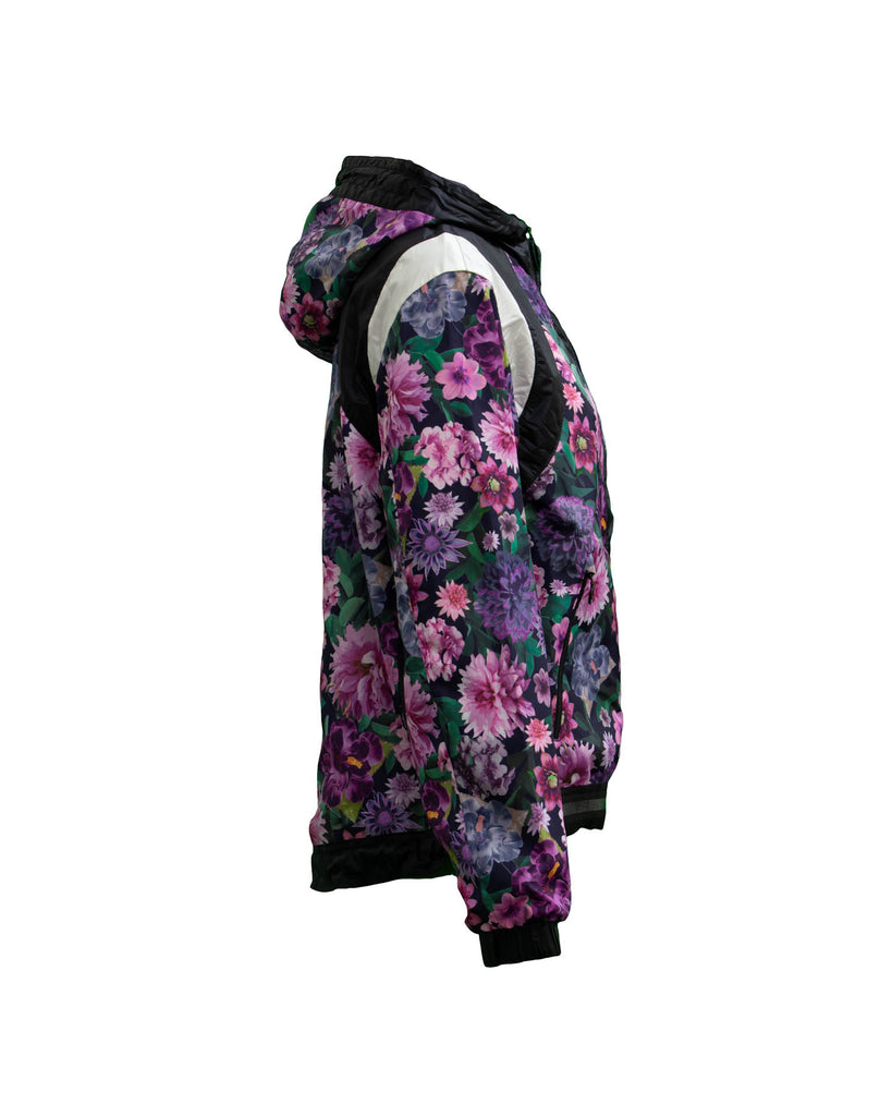 Floral Hooded Bomber