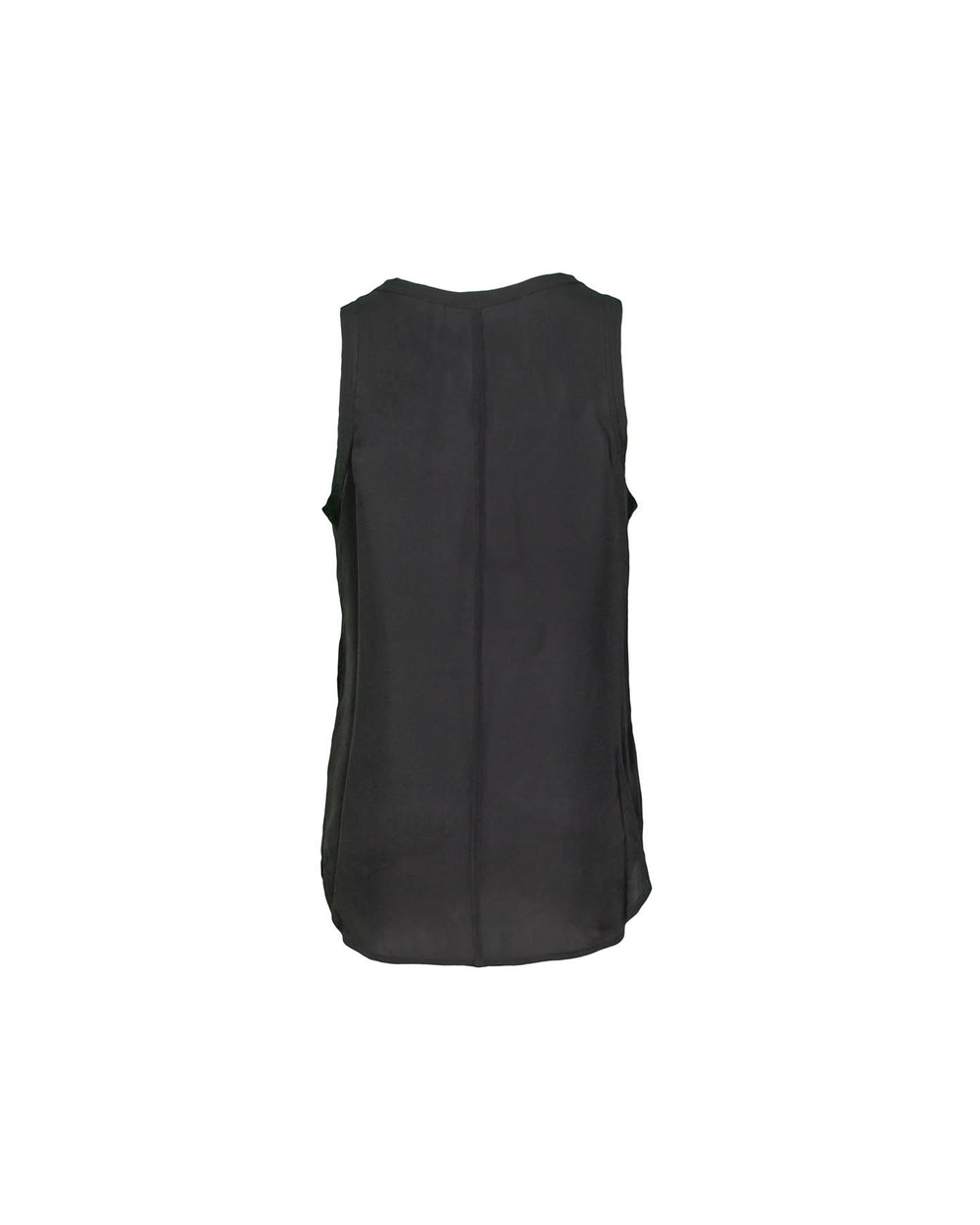 Raw Edge Silk Tank