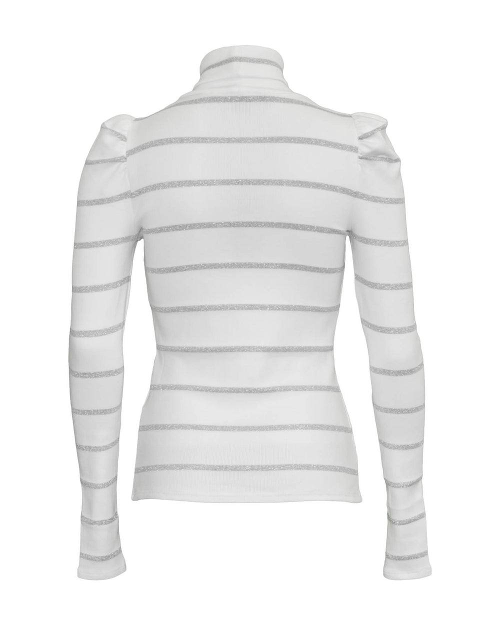 Cedar Turtleneck Pullover White