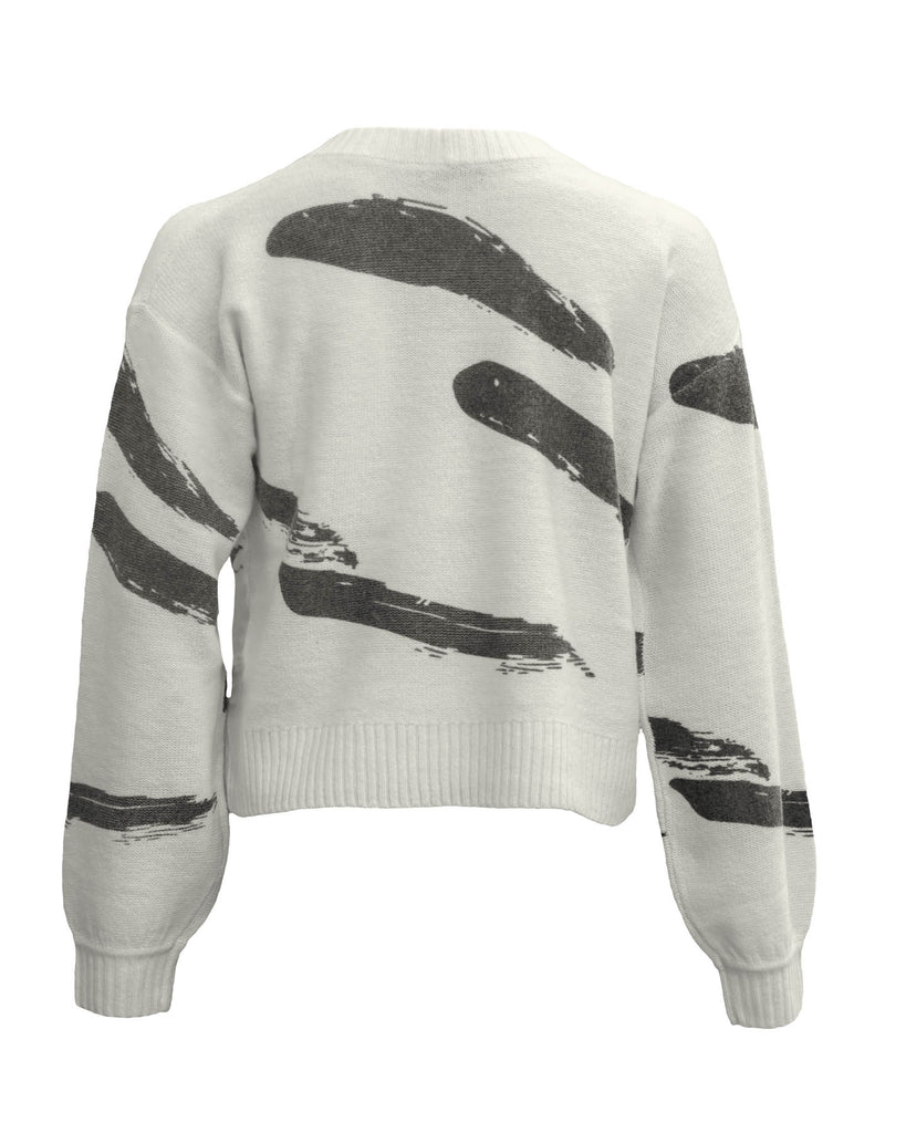 Hassina Printed Sweater