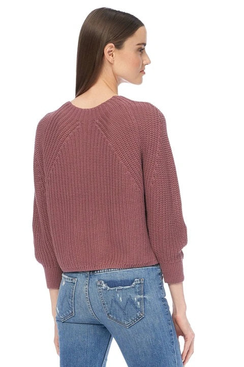 Everlyn Cotton Sweater Fig