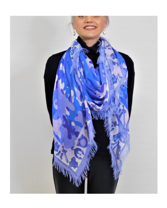 Camouflage Armour of Love Scarf