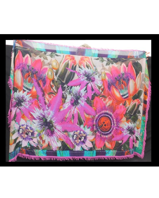 Full of Passion Flowers Scarf